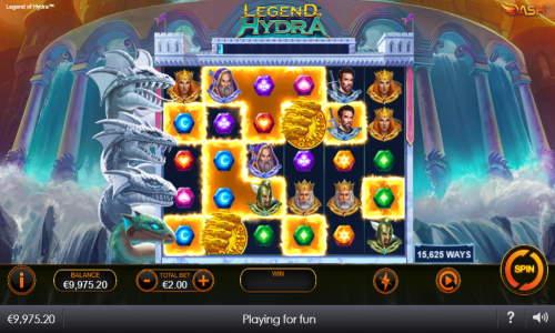 Legend of Hydra Videoslot Screenshot
