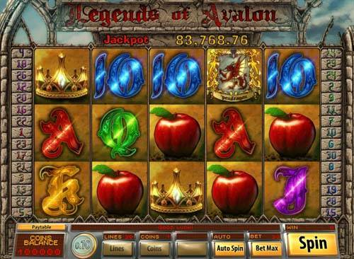 Legends of Avalon slot