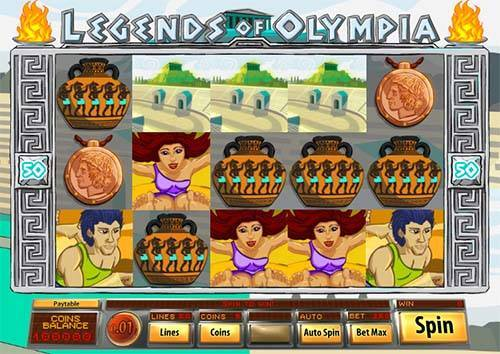 Legends of Olympia slot