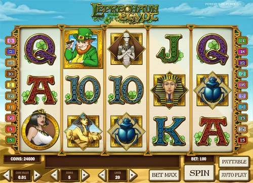 Leprechaun Goes Egypt slot free play demo