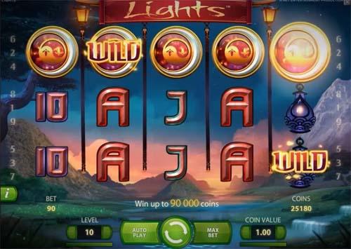 Lights Videoslot Screenshot