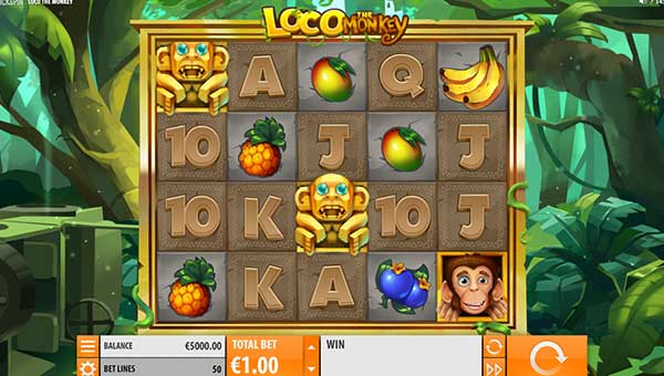 loco the monkey slot overview and summary