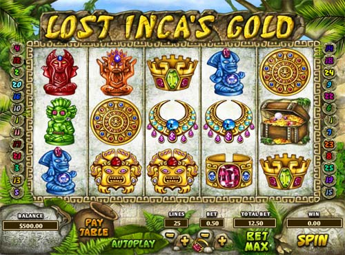 Lost Incas Gold slot