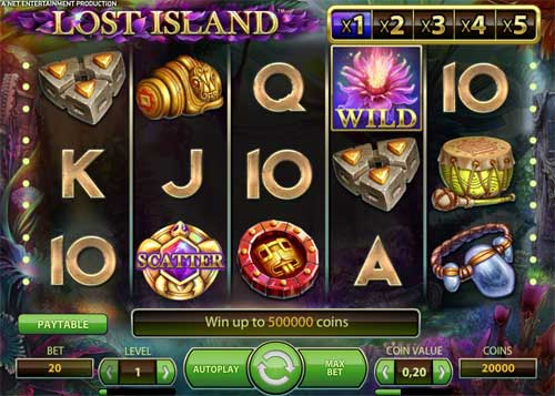 Lost Island slot free play demo is not available.