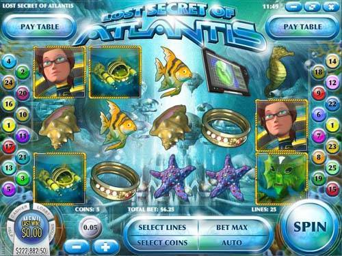 Lost Secret of Atlantis slot