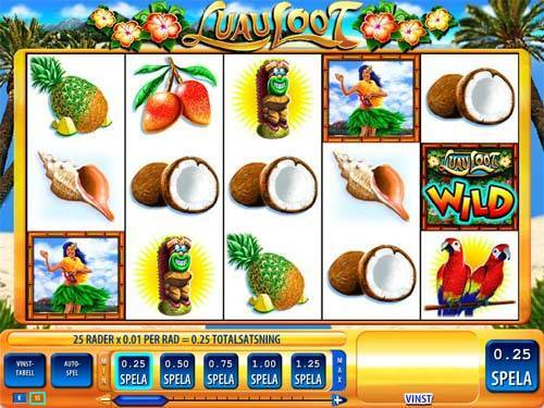 Luau Loot slot