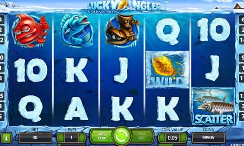 Lucky Angler Videoslot Screenshot