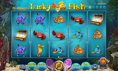 Lucky Fish Videoslot Screenshot