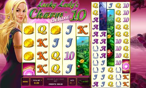 Lucky Ladys Charm Deluxe 10 slot