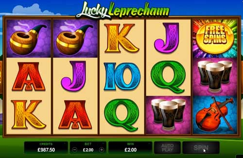 Lucky Leprechaun Slot - Try it Online for Free or Real Money