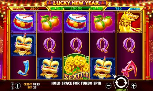 Lucky New Year slot