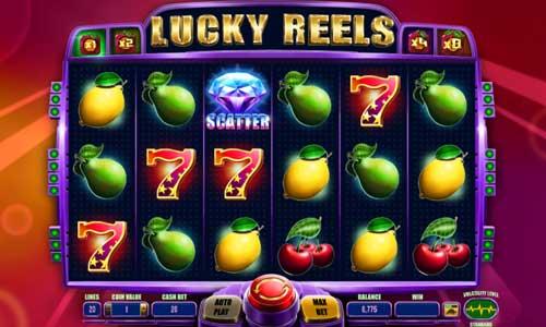 Lucky Reels Videoslot Screenshot