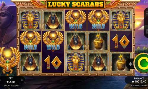 Lucky Scarabs slot