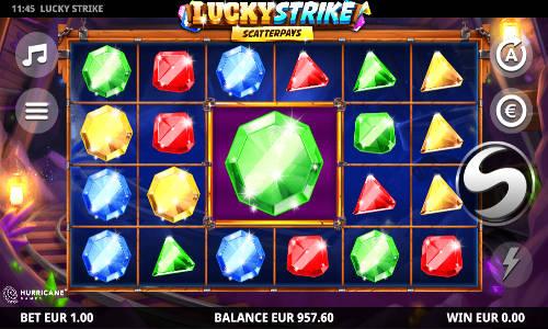 Lucky Strike Videoslot Screenshot