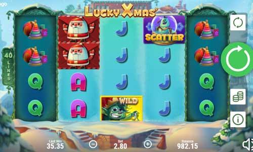 Lucky Xmas Videoslot Screenshot