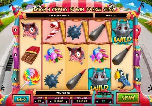 Mad Pinatas slot