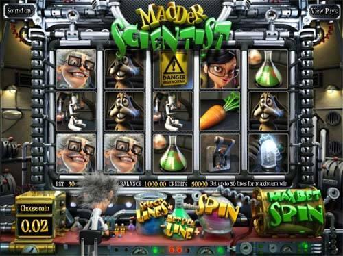 Madder Scientist slot free play demo