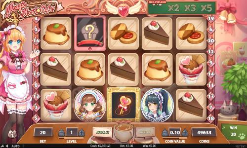 Magic Maid Cafe slot