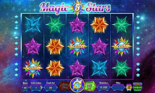 Magic Stars 5 Videoslot Screenshot