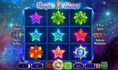 Magic Stars 9 Videoslot Screenshot