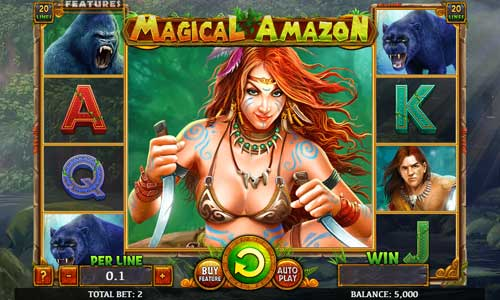 Magical Amazon Videoslot Screenshot