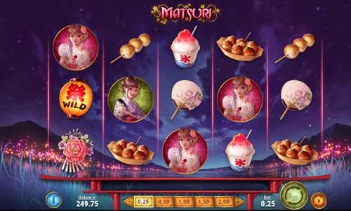 Matsuri Videoslot Screenshot