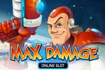 Max Damage logo