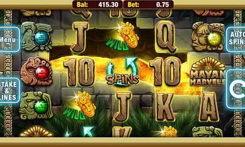 Mayan Marvels slot free play demo