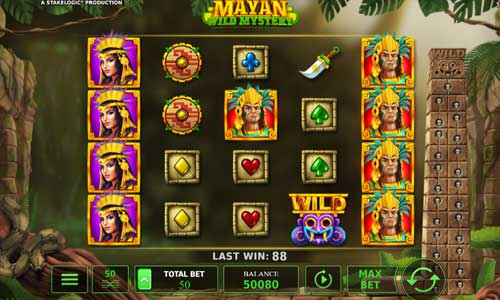 Mayan Wild Mystery Videoslot Screenshot