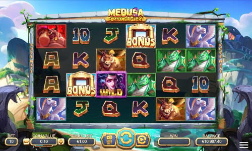 Medusa Fortune and Glory slot