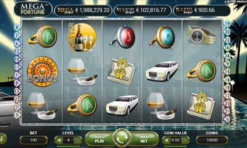 mega fortune slot overview and summary