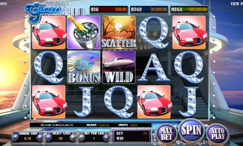 Mega Glam Life Online Slots for Real Money - Rizk Casino