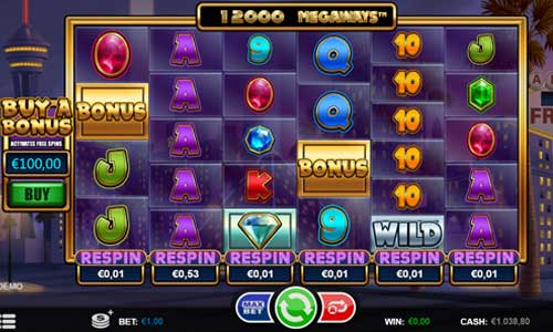 Megaways Respin slot