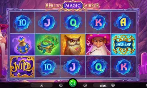 Merlins Magic Mirror Videoslot Screenshot