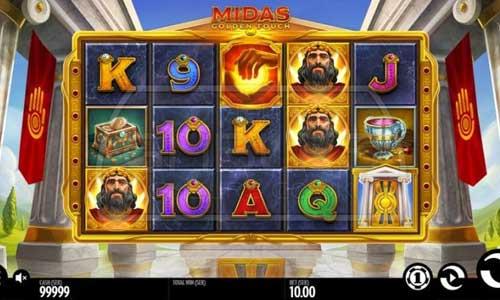 Midas Golden Touch Videoslot Screenshot