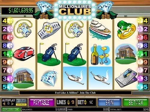 Millionaires Club 2 slot