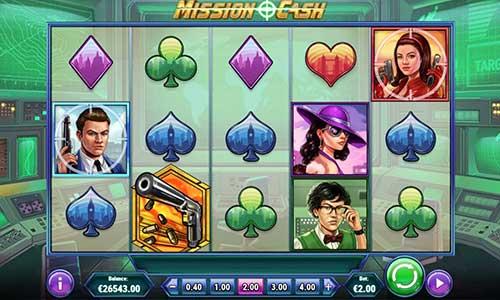Mission Cash Videoslot Screenshot