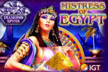 Mistress of Egypt Diamond Spins slot free play demo