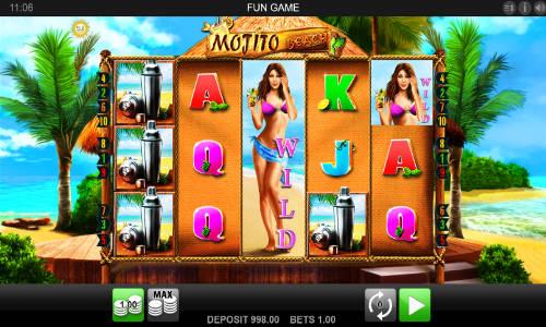 Mojito Beach Videoslot Screenshot
