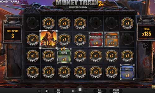 money train 2 slot overview and summary