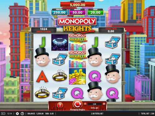 Monopoly Heights Videoslot Screenshot