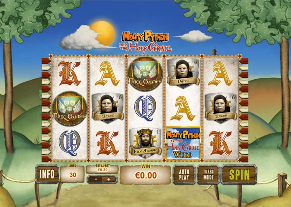 Monty Python and the Holy Grail Slots - Play Online for Free