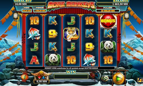 More Monkeys slot