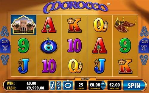 Morocco slot