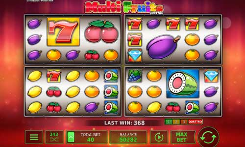 Multi Fruits Quattro Videoslot Screenshot
