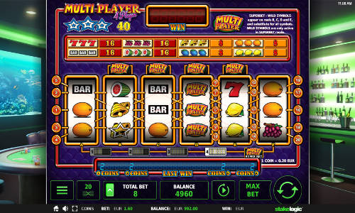 Multi Player 4 Player Videoslot Screenshot