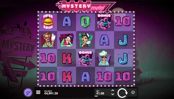 mystery motel slot overview and summary