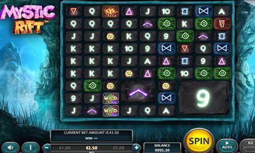 Mystic Rift Videoslot Screenshot