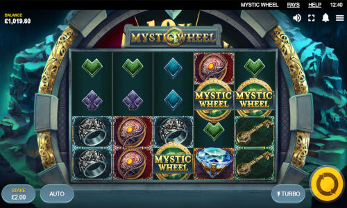 Mystic Wheel Videoslot Screenshot