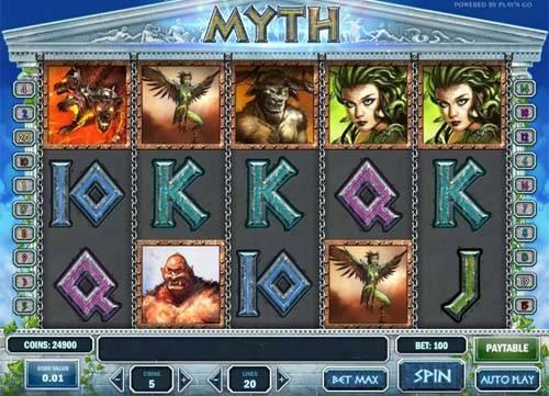 Myth slot free play demo
